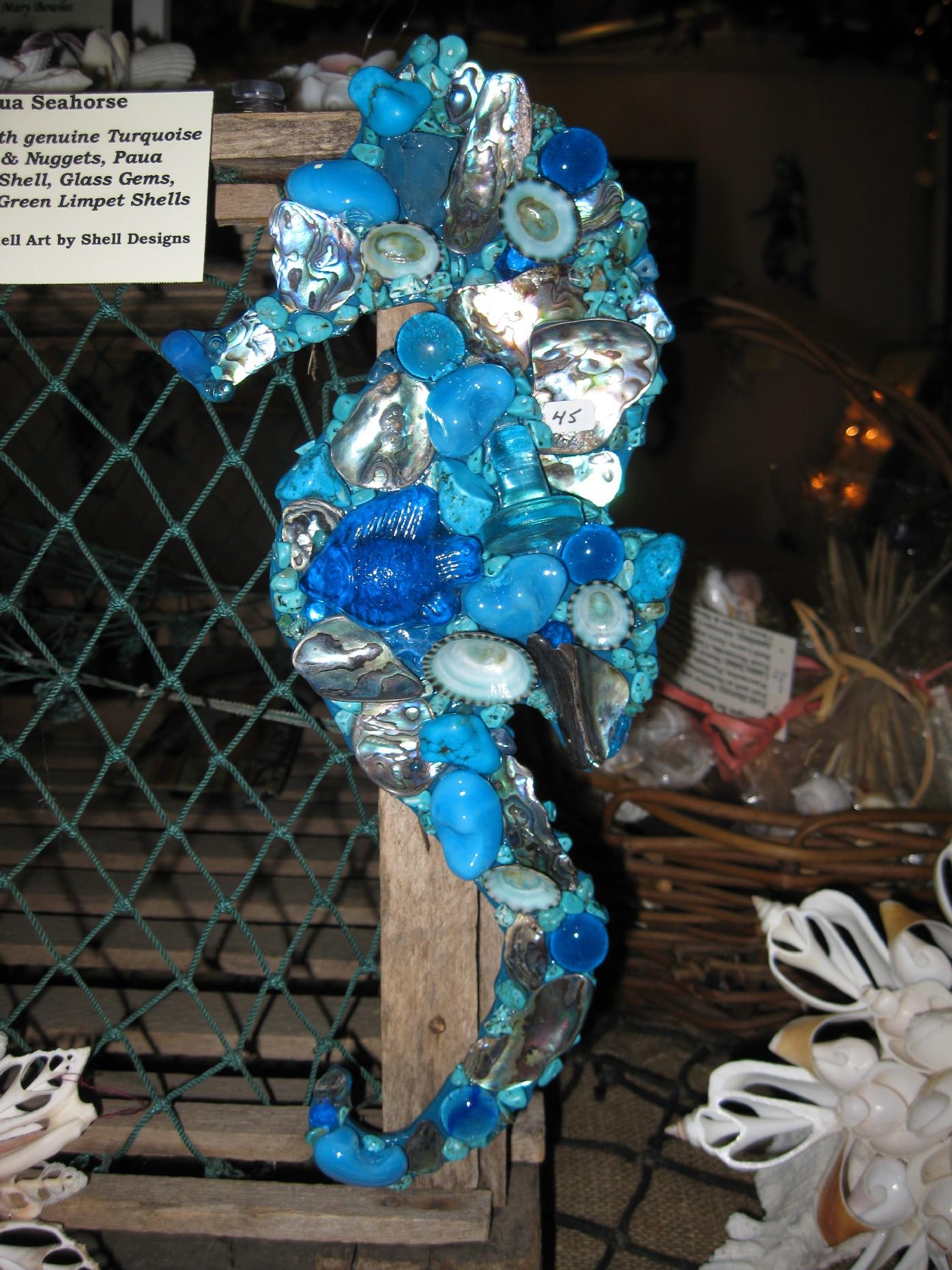 aqua-seahorse