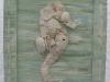 green-seahorse-framed